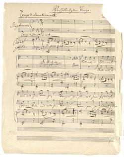 Brahms: Wechsellied zum Tanze (op. 31, 1)