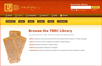 TBRC - Digital Library