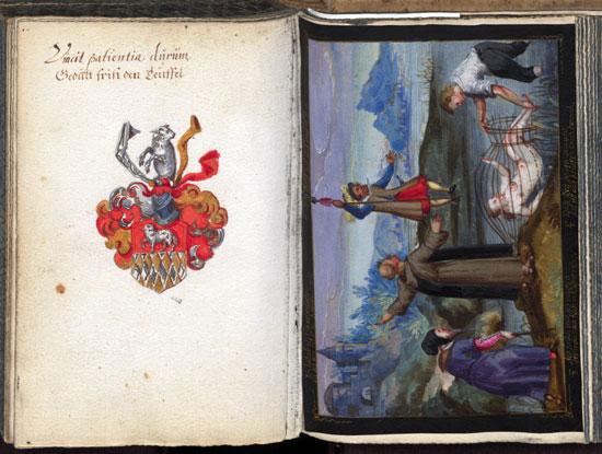 Stammbuch von Paul Langermann