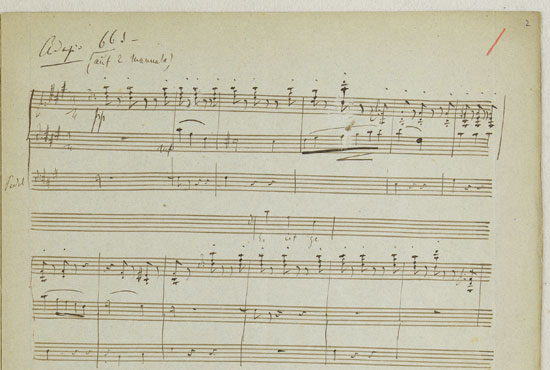 Liszts Mendelssohn-Transkription 'Es ist genug'