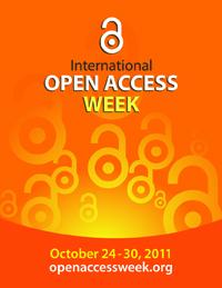 Logo open acceess week 2011