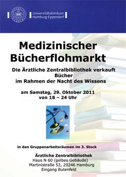 Medizinischer Bücherflohmarkt in der Ärztlichen Zentralbibliothek