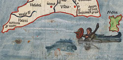 Exponat des Monats: Der Atlas des Claudius Ptolemaeus