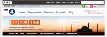 bbc4-Radioserie 'The written world'