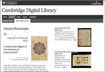 Cambridge Digital Library