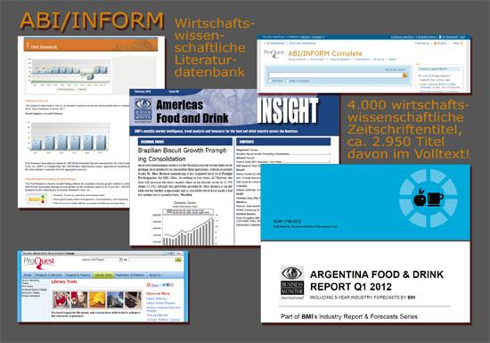 ABI/INFORM Complete – Wirtschaftswissenschaftliche Literaturdatenbank
