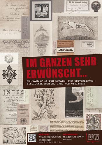 Ausstellung NS-Raubgut (15.5. - 1.7.)