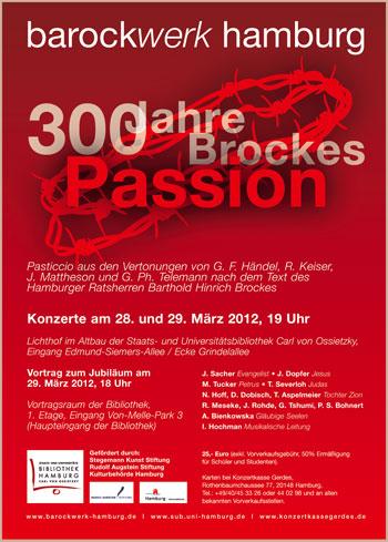 300 Jahre Brockes-Passion