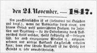Hamburger Nachrichten 1847