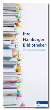 Neuer Bibliotheksflyer der Hamburger Bibliotheken