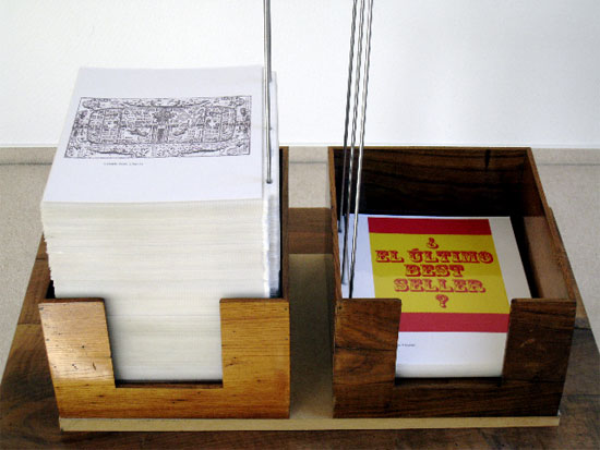 Ausstellung im Foyer: Das letzte Buch