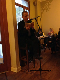 Maximilian Buddenbohm liest «Wiebke» in Le Kaschemme