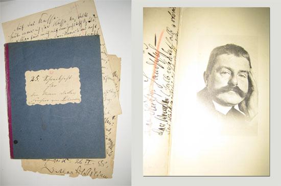 Patenbuch des Monats August: Schreibhefte für den kleinen Detlev