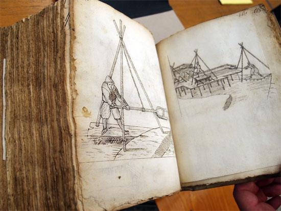 Jungius: Schemata Geometriae Empiricae - Zeichnungen zum Festungsbau