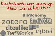 Literaturverwaltungs-Programme
