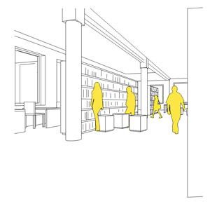 Fachbibliothek Sozialwissenschaften wird modernisiert