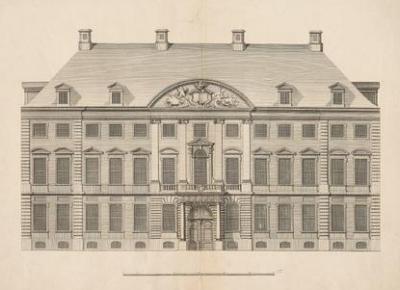 Architekturzeichnungen des Görtz-Palais