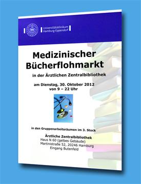 Medizinischer Bücherflohmarkt in Ärztlicher Zentralbibliothek