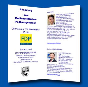 Podiumsgespräch zur Zukunft des Qualitätsjournalismus im digitalen Zeitalter