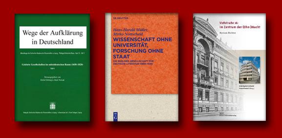 Wissenschaftsgeschichte: dreimal anders. Neuerscheinungen aus der Germanistik