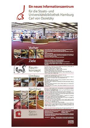 Ein neues Informationszentrum für die Staats- und Universitätsbibliothek Hamburg Carl von Ossietzky