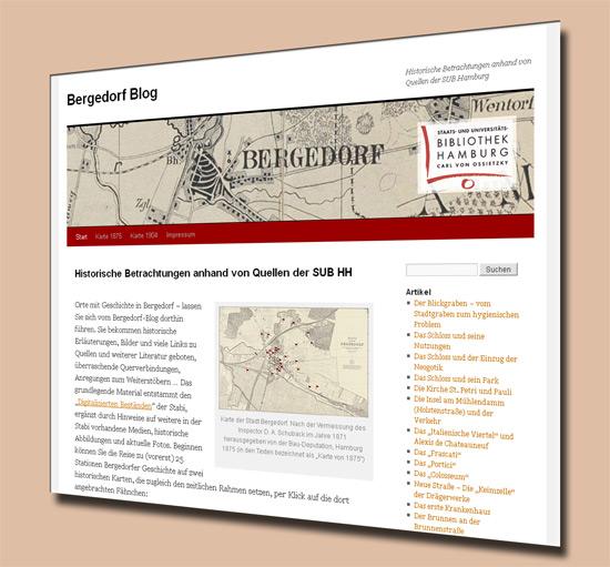 Bergedorf-Blog – Historische Betrachtungen anhand von Quellen der SUB Hamburg