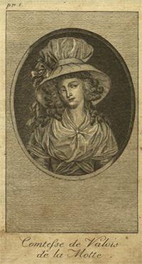 Portrait La Motte, Jeanne de Saint-Rémy de Valois