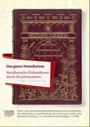 Das ganze Drumherum – Ausstellung Einbandkunst (8.8.-15.9.)