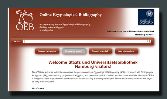 Online Egyptological Bibliography