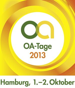 Logo der Open-Access-Tage 2013 in Hamburg