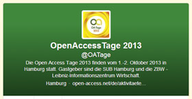 Twitter-Account der Open-Access-Tage