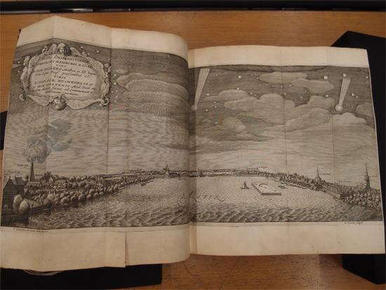 Theatrum Cometicum (1667) von Stanislaus Lubiniezky