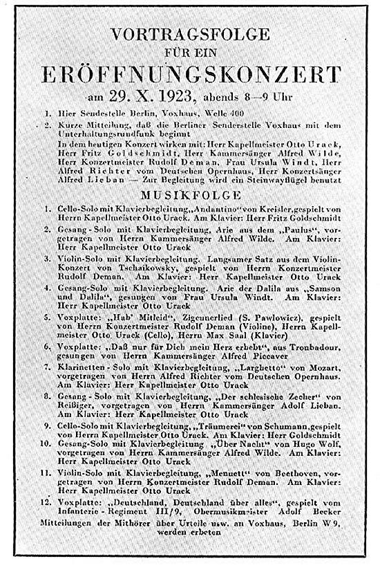 eroeffnungskonzert1923