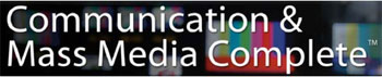Communication & Mass Media Complete