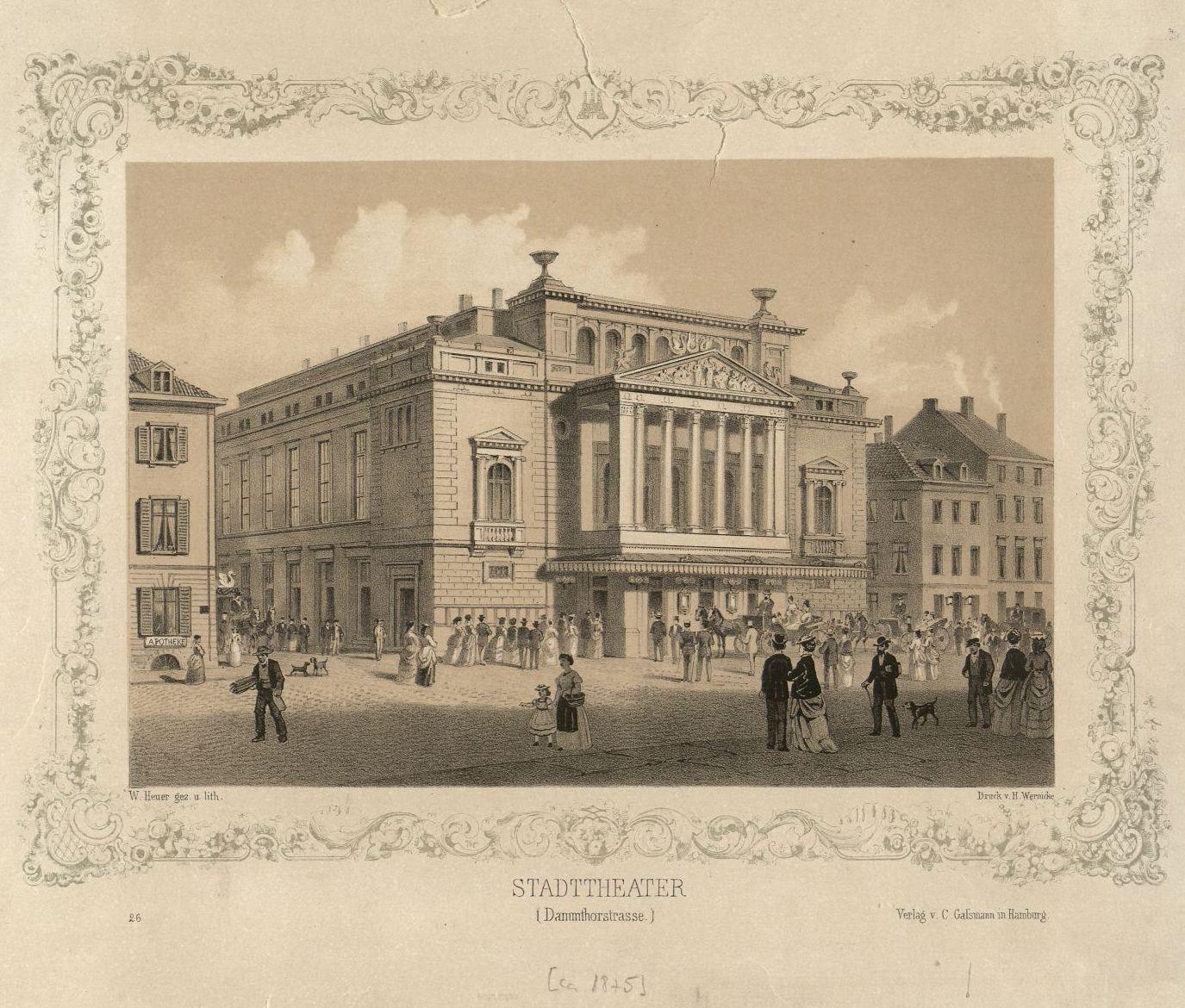 Universit t hamburg bergibt theatersammlung an staats for Hamburg universitat