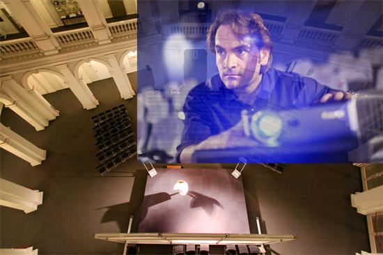 Live-Dokumentation im Lichthof: Das Europäische Parlament – Stimme der Bürger