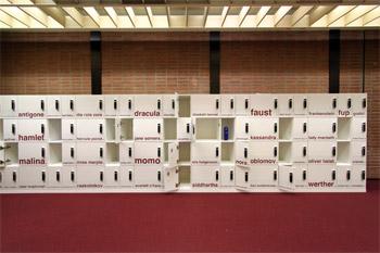 Schließfächer im Informationszentrum