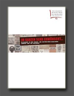 Broschüre über die Arbeit der NS-Raubgutforschung in der Stabi
