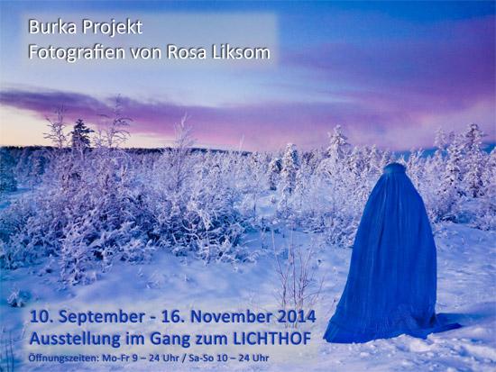 Burka Projekt – Fotos von Rosa Liksom