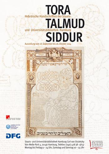 Tora – Talmud – Siddur. Hebräische Handschriften der Staatsbibliothek (18.9.-26.10.)