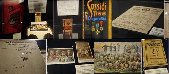 Fotos aus der Ausstellung 'Osmanen in Hamburg'