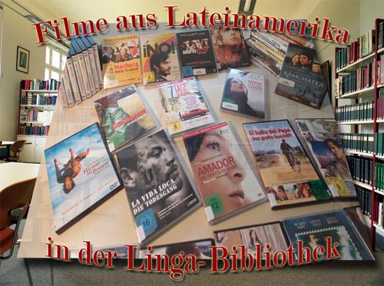 Lateinamerikanische Filme in der Linga-Bibliothek