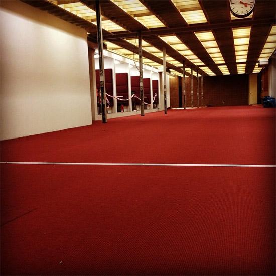 Der rote Teppich ist da