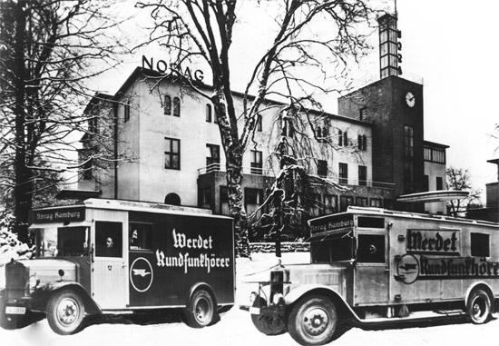 NORAG Werbewagen, 1930