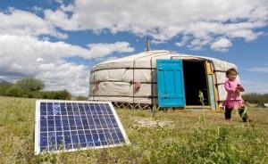 Solarenergienutzung Mongolei