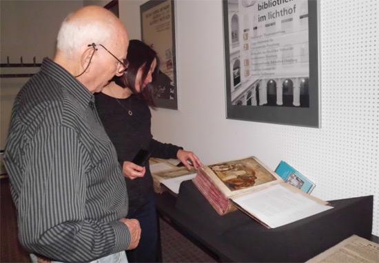 Die Bibliothek der Jüdischen Gemeinde bekommt Besuch