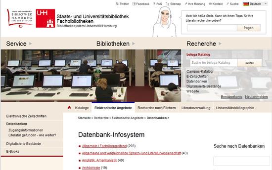 Datenbank-Infosystem DBIS