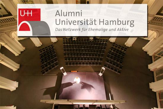 Alumni Universität Hamburg - Podiumsdiskussion im Lichthof