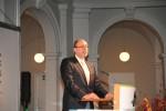 Michael Kleeberg bei der Dankesrede