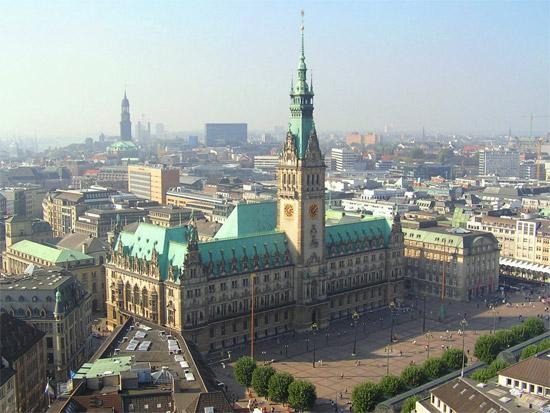 Hamburger Rathaus, Foto: Daniel Ullrich